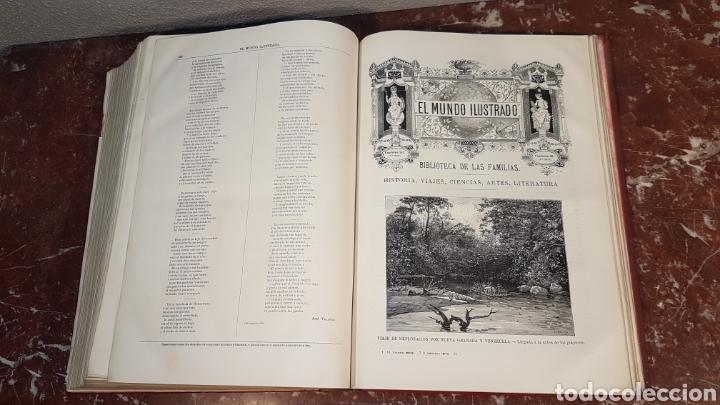 Enciclopedias antiguas: EL MUNDO ILUSTRADO. Biblioteca Ilustrada de Espasa y Cía. Barcelona - finales siglo XIX - Foto 39 - 197660240