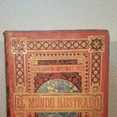 Enciclopedias antiguas: EL MUNDO ILUSTRADO. BIBLIOTECA ILUSTRADA DE ESPASA Y CÍA. BARCELONA - FINALES SIGLO XIX. Lote 197660240