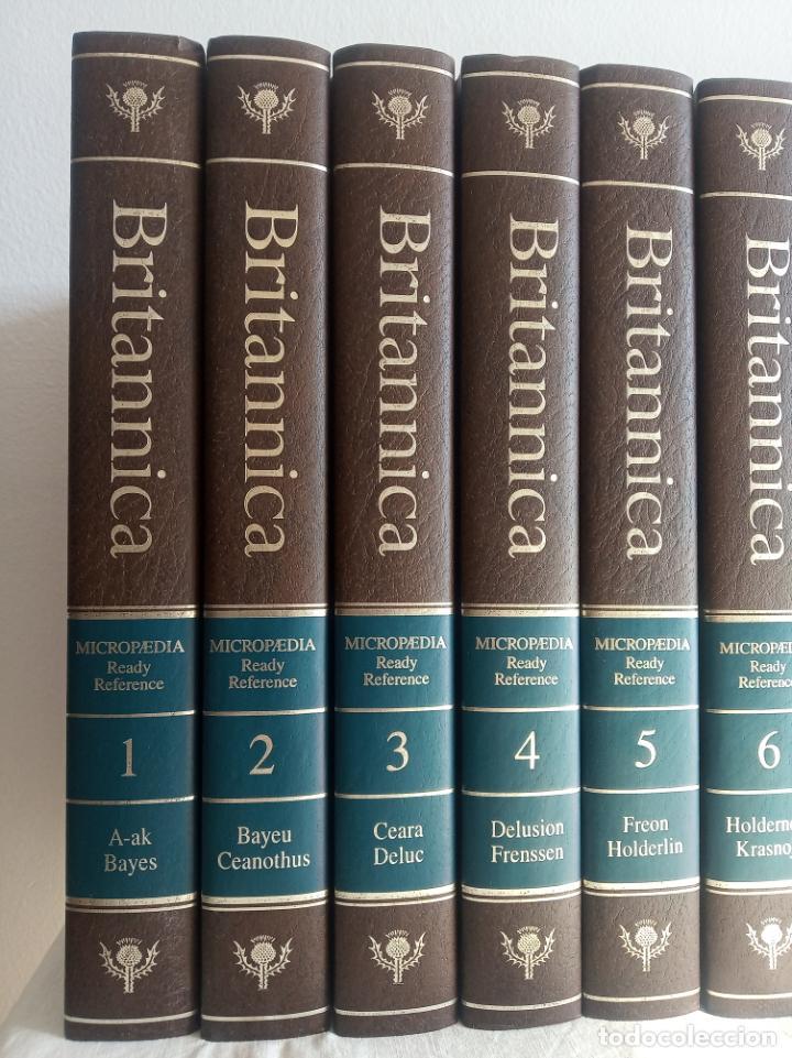 Enciclopedias antiguas: Gran enciclopedia Británica. 47 volúmenes. Años 90. Inglés. - Foto 2 - 197842716