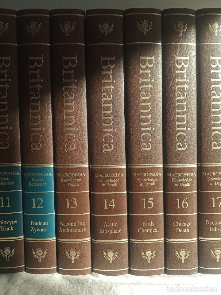 Enciclopedias antiguas: Gran enciclopedia Británica. 47 volúmenes. Años 90. Inglés. - Foto 4 - 197842716