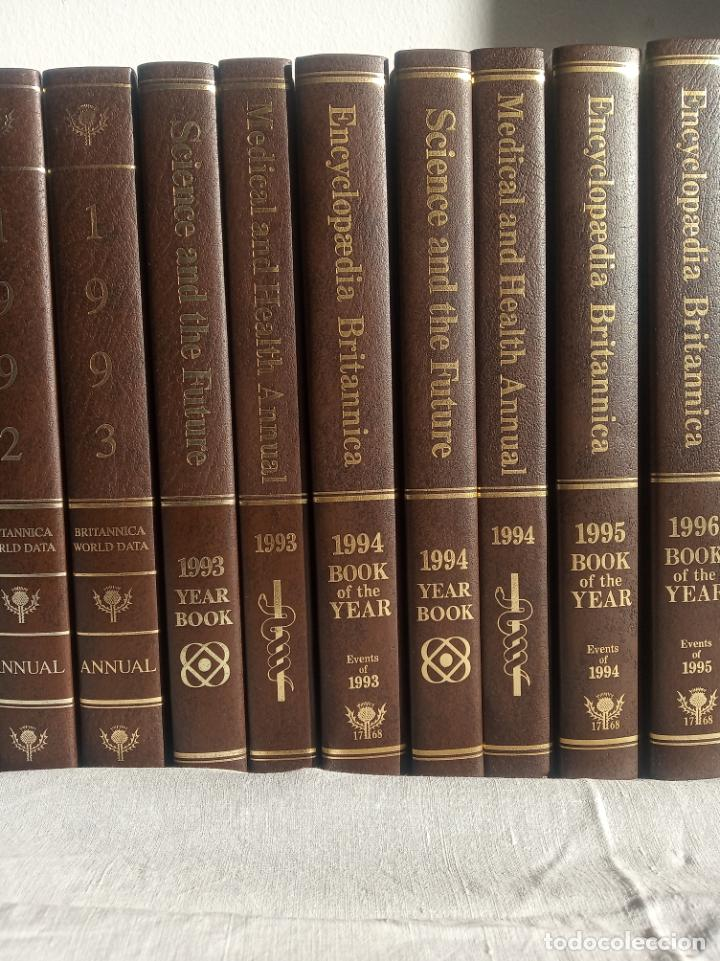 Enciclopedias antiguas: Gran enciclopedia Británica. 47 volúmenes. Años 90. Inglés. - Foto 8 - 197842716