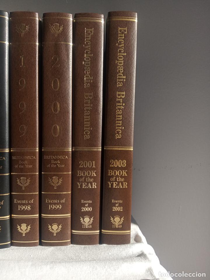 Enciclopedias antiguas: Gran enciclopedia Británica. 47 volúmenes. Años 90. Inglés. - Foto 10 - 197842716