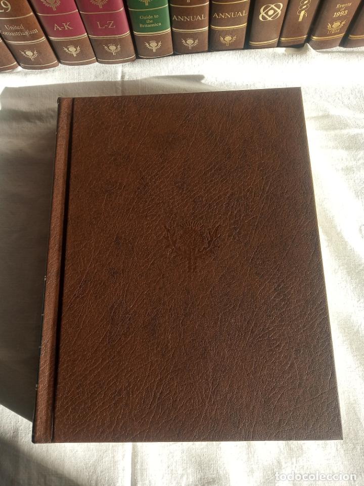 Enciclopedias antiguas: Gran enciclopedia Británica. 47 volúmenes. Años 90. Inglés. - Foto 11 - 197842716