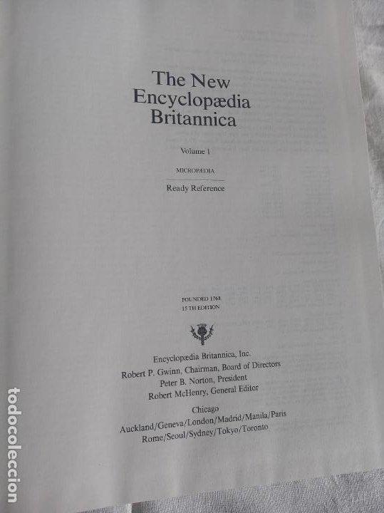 Enciclopedias antiguas: Gran enciclopedia Británica. 47 volúmenes. Años 90. Inglés. - Foto 12 - 197842716