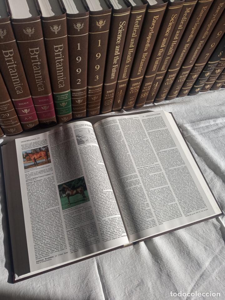 Enciclopedias antiguas: Gran enciclopedia Británica. 47 volúmenes. Años 90. Inglés. - Foto 14 - 197842716