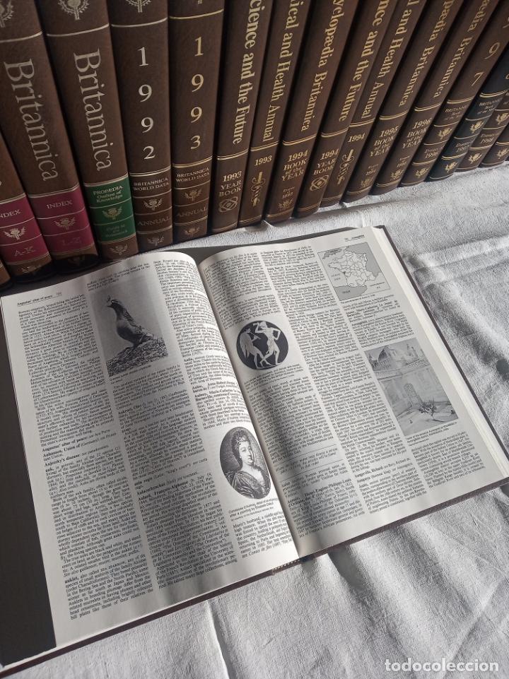 Enciclopedias antiguas: Gran enciclopedia Británica. 47 volúmenes. Años 90. Inglés. - Foto 15 - 197842716