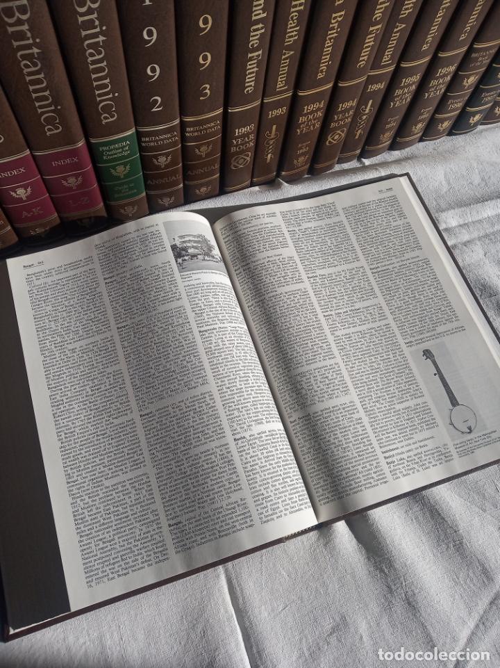 Enciclopedias antiguas: Gran enciclopedia Británica. 47 volúmenes. Años 90. Inglés. - Foto 16 - 197842716