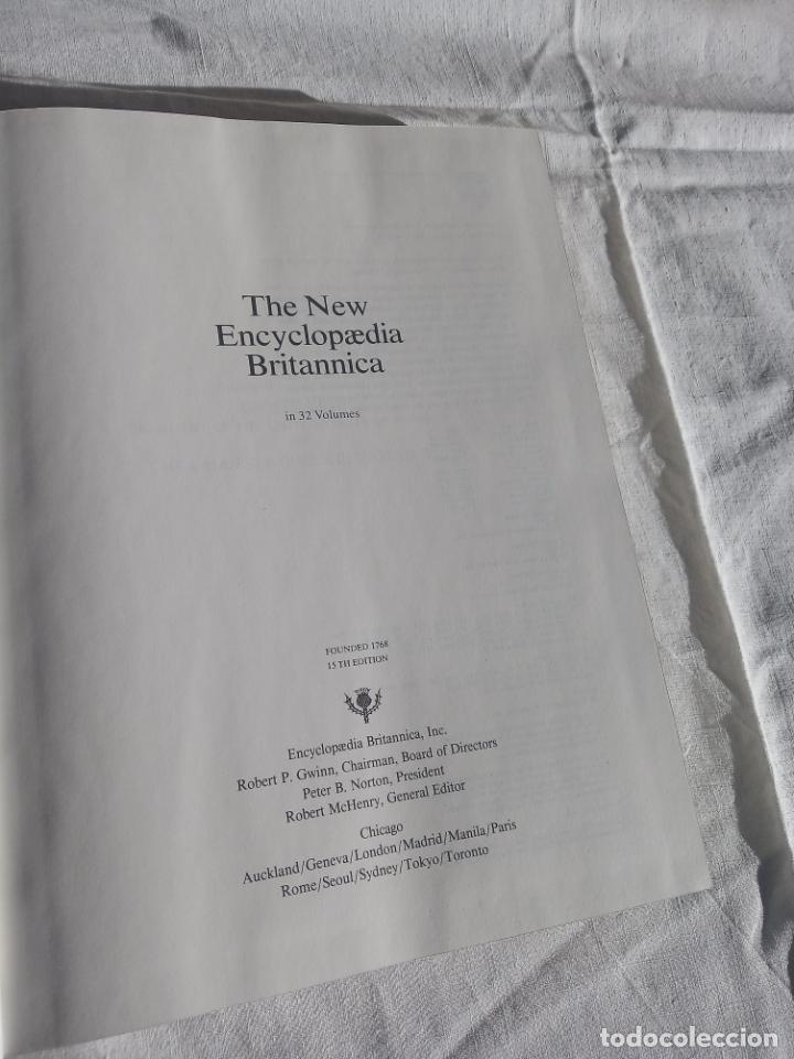 Enciclopedias antiguas: Gran enciclopedia Británica. 47 volúmenes. Años 90. Inglés. - Foto 17 - 197842716
