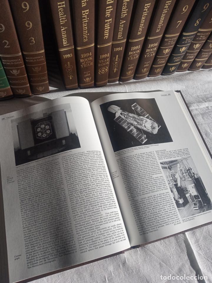 Enciclopedias antiguas: Gran enciclopedia Británica. 47 volúmenes. Años 90. Inglés. - Foto 23 - 197842716