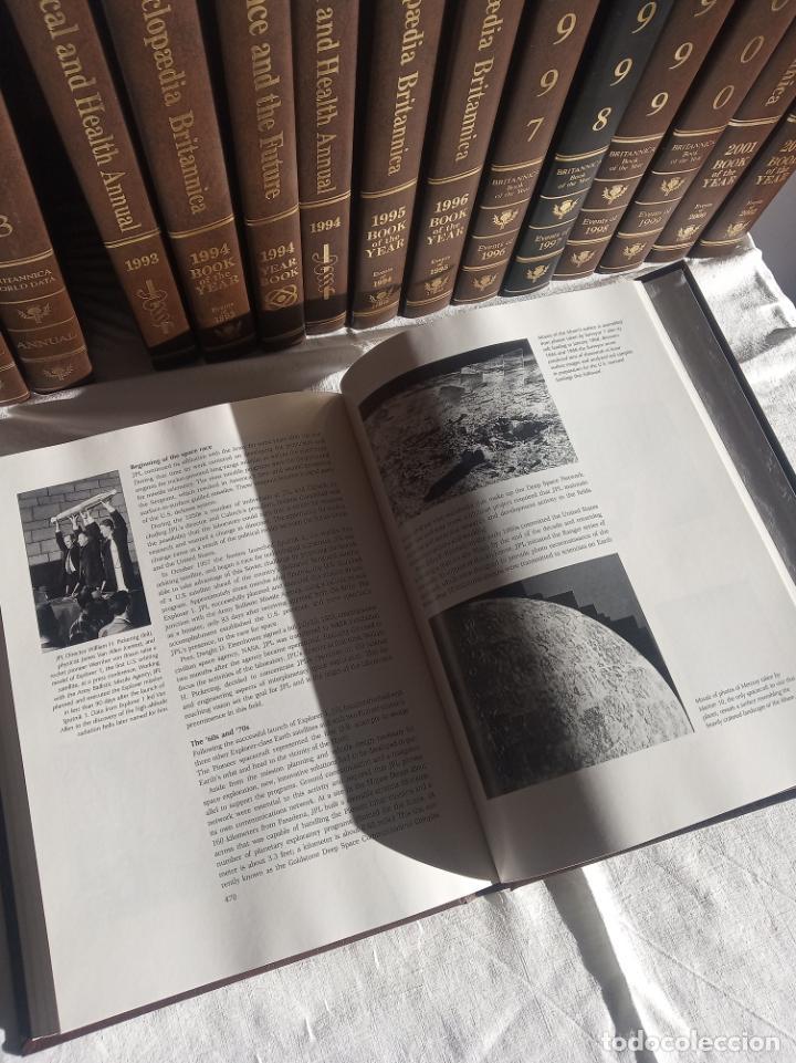 Enciclopedias antiguas: Gran enciclopedia Británica. 47 volúmenes. Años 90. Inglés. - Foto 24 - 197842716