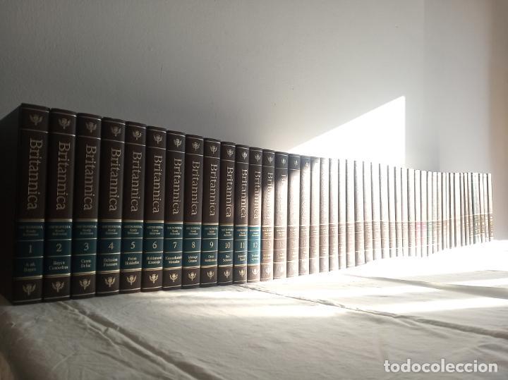 GRAN ENCICLOPEDIA BRITÁNICA. 47 VOLÚMENES. AÑOS 90. INGLÉS. (Libros Antiguos, Raros y Curiosos - Enciclopedias)