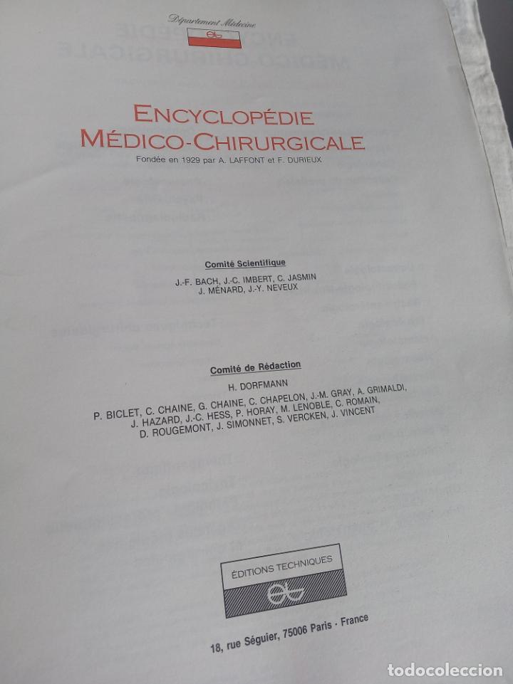 Enciclopedias antiguas: Encyclopédie médico chirurgicale Oto-rhino laryngologie.3 tomos. LAFFONT, A. P. Comité Scientifique. - Foto 5 - 197843958
