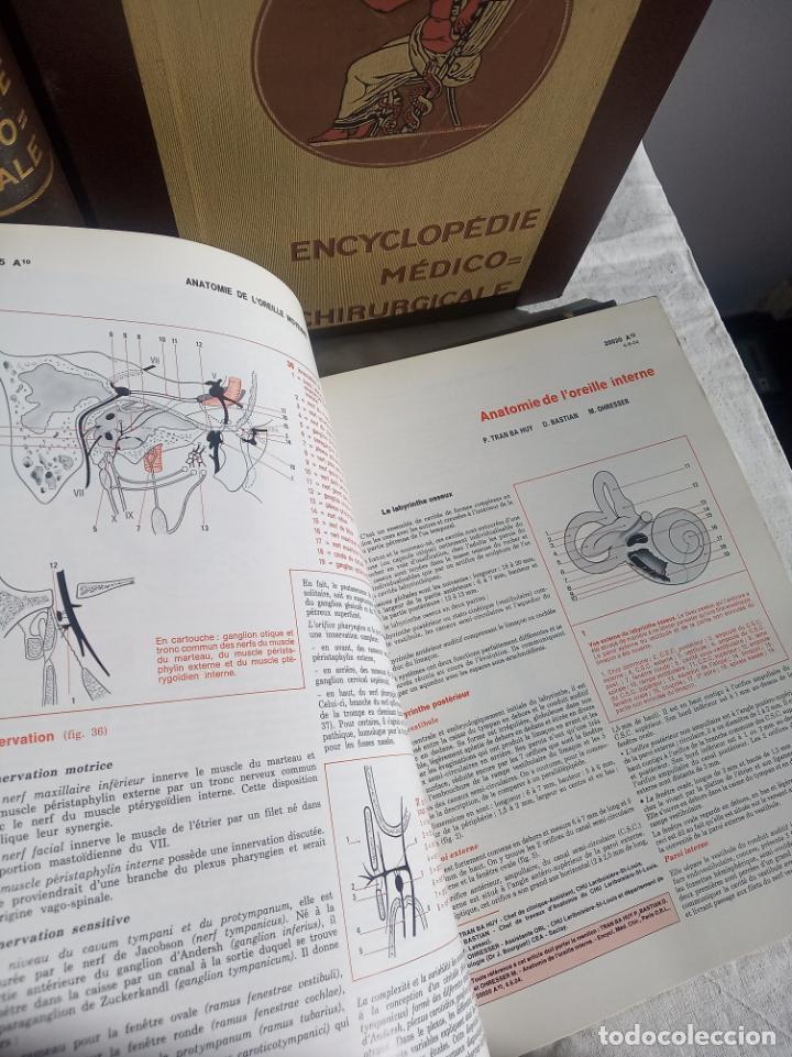 Enciclopedias antiguas: Encyclopédie médico chirurgicale Oto-rhino laryngologie.3 tomos. LAFFONT, A. P. Comité Scientifique. - Foto 7 - 197843958