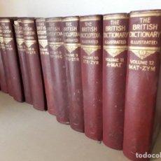 Enciclopedias antiguas: THE BRITISH ENCICLOPEDIA AND DICTIONARY, 12 TOMOS,1933. Lote 198216116