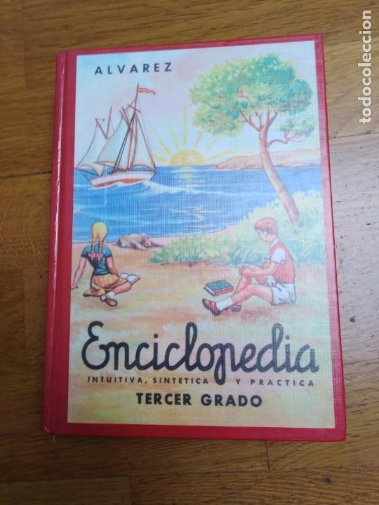 ENCICLOPEDIA ÁLVAREZ TERCER GRADO (Libros Antiguos, Raros y Curiosos - Enciclopedias)