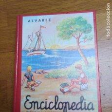Enciclopedias antiguas: ENCICLOPEDIA ÁLVAREZ TERCER GRADO. Lote 198327958