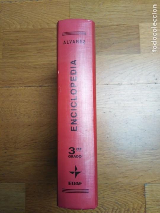 Enciclopedias antiguas: Enciclopedia Álvarez tercer grado - Foto 2 - 198327958
