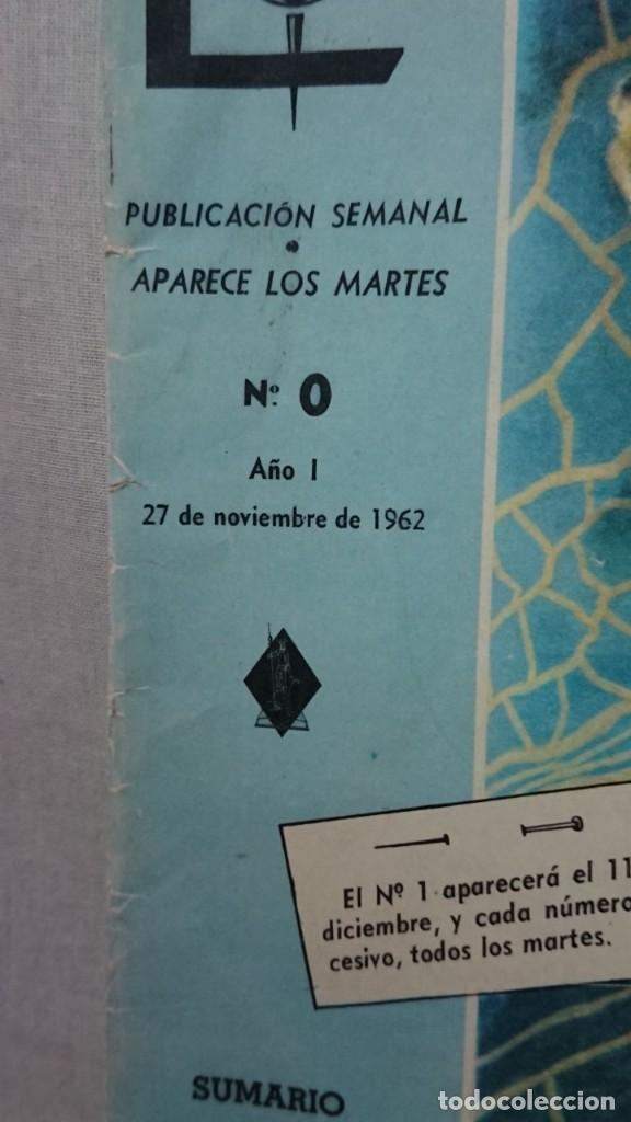Enciclopedias antiguas: ENCICLOPEDIA ESTUDIANTIL N° 0 AÑO I - 27 NOVIEMBRE 1962 - Foto 2 - 198340855