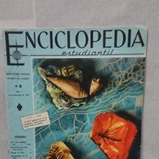 Enciclopedias antiguas: ENCICLOPEDIA ESTUDIANTIL N° 0 AÑO I - 27 NOVIEMBRE 1962. Lote 198340855