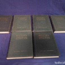 Enciclopedias antiguas: ENCICLOPEDIA DE SEIS TOMOS HISTORIA UNIVERSAL. Lote 199652103