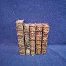 Enciclopedias antiguas: CINCO TOMOS EN FRANCES DE LOS SERMONS DE M.MASSILLON. Lote 199843648