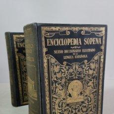 Enciclopedias antiguas: DICCIONARIO ILUSTRADO DE LA LENGUA ESPAÑOLA, 5 EDICIÓN, EDITORIAL RAMON SOPENA. AÑO 1933.. Lote 203795750