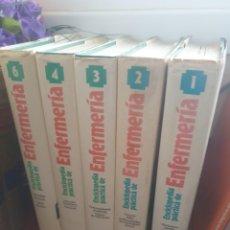 Enciclopedias antiguas: ENCICLOPEDIA PRACTICA DE ENFERMERIA 1984. TOMOS 1-2-3-4-6 EDITORIAL PLANETA PRIMERA EDICION 1984. Lote 204149506