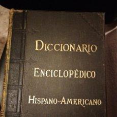 Enciclopedias antiguas: DICCIONARIO ENCICLOPEDIDO HISPANO AMERICANO. TOMO V PRIMERA PARTE. Lote 204720433