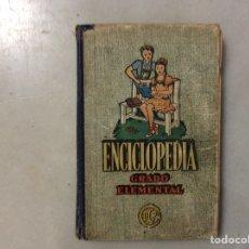 Enciclopedias antiguas: ENCICLOPEDIA GRADO ELEMENTAL. Lote 205872088