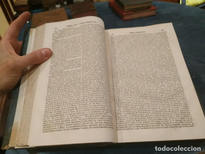 Enciclopedias antiguas: 1864. ENCICLOPEDIA MODERNA DICCIONARIO UNIVERSAL DE LITERATURA,CIENCIAS...Mellado Complemento T. II - Foto 5 - 208211015
