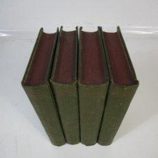 Enciclopedias antiguas: ENCICLOPEDIA MODERNA CATALANA - JOSEPH FITER - EDITOR JOSEPH GALLACH - 4 TOMOS - 1913. Lote 224827935