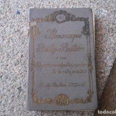 Enciclopedias antiguas: ALMANAQUE BAILLY BAILLIERE. PEQUEÑA ENCICLOPEDIA POPULAR DE LA VIDA PRÁCTICA. 1931. TAPA DURA.. Lote 208679800