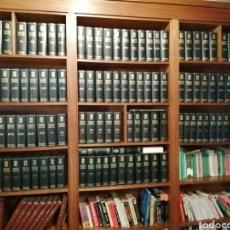 Enciclopedias antiguas: ENCICLOPEDIA ESPASACALPE 120 TOMOS.PERFECTO ESTADO. Lote 210477905