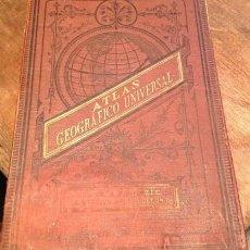 Enciclopedias antiguas: ATLAS GEOGRAFICO UNIVERSAL. 1883 PALUZIE. Lote 210593450