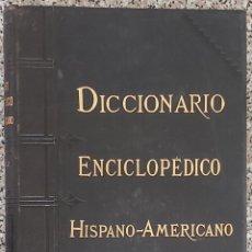 Enciclopedias antiguas: DICCIONARIO ENCICLOPÉDICO HISPANO-AMERICANO. MONTANER Y SIMÓN. 1887-1908. Lote 211574509