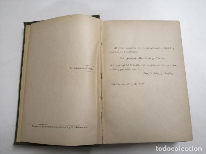 Enciclopedias antiguas: Enciclopedia moderna catalana. Joseph Fiter. 5 volums. Ed.: Joseph Gallach. 1913 Barcelona - Foto 4 - 212616430