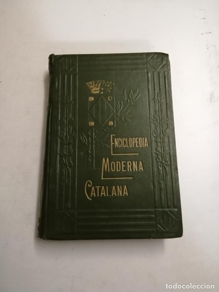 Enciclopedias antiguas: Enciclopedia moderna catalana. Joseph Fiter. 5 volums. Ed.: Joseph Gallach. 1913 Barcelona - Foto 18 - 212616430