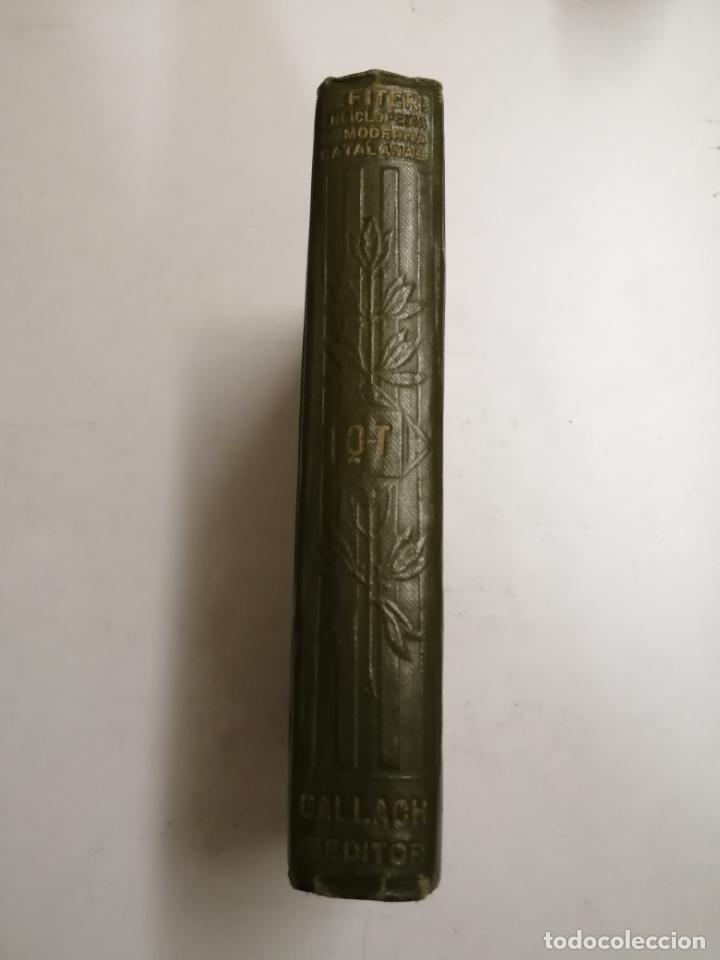 Enciclopedias antiguas: Enciclopedia moderna catalana. Joseph Fiter. 5 volums. Ed.: Joseph Gallach. 1913 Barcelona - Foto 25 - 212616430