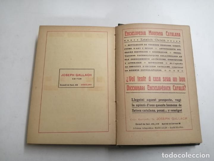 Enciclopedias antiguas: Enciclopedia moderna catalana. Joseph Fiter. 5 volums. Ed.: Joseph Gallach. 1913 Barcelona - Foto 39 - 212616430