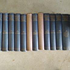 Enciclopedias antiguas: 14 TOMOS DE LA ENCICLOPEDIA FARMACÉUTICA, DE 1916.. Lote 212986062