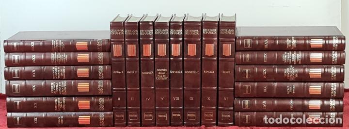 CATALUNYA ROMÀNICA. 20 VOLUMENES. VARIOS AUTORES. ENCICLOPÈDIA CATALANA. 1984/91. (Libros Antiguos, Raros y Curiosos - Enciclopedias)