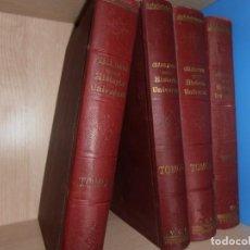 Enciclopedias antiguas: HISTORIA UNIVERSAL, DE CESAR CANTU. FRANCISCO SEIX EDITOR EN 1903 VOLÚMENES 5 / 6 / 7 / 8. Lote 215842267