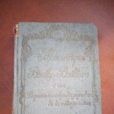 Enciclopedias antiguas: ALMANAQUE BAAILLY-BAILLIERE. 1936.. Lote 217285792