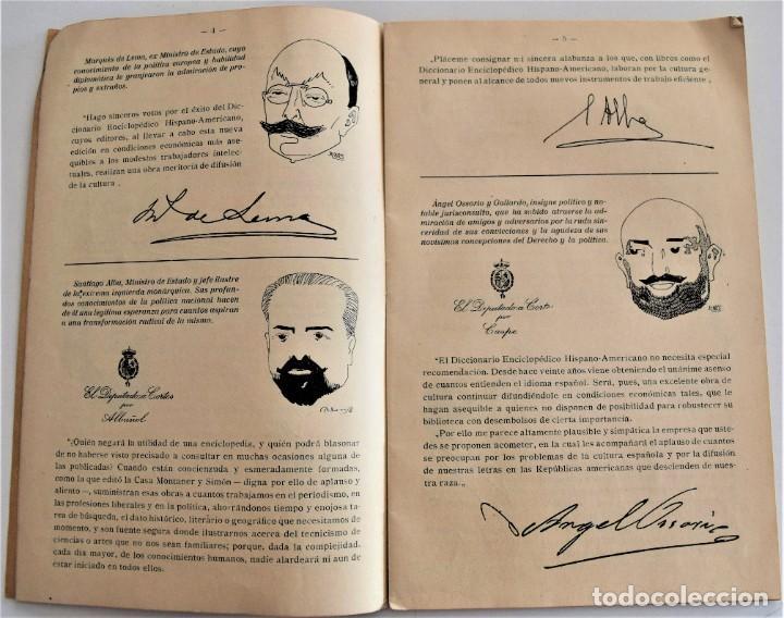 Enciclopedias antiguas: LO QUE DICEN SOBRE EL DICCIONARIO ENCICLOPÉDICO HISPANO-AMERICANO 1923 . UNAMUNO, CAJAL, AZORÍN,... - Foto 4 - 217933266