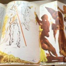 Enciclopedias antiguas: EL QUIJOTE . EDICIÓN LITERARIA Y ARTÍSTICA CON EXCEPCIONALES ILUSTRACIONES DALI. Lote 218760582