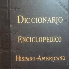 Enciclopedias antiguas: DICCIONARIO ENCICLOPÉDICO HISPANO AMERICANO, MONTANER Y SIMON ED., 1898, 25 TOMOS. Lote 219214250