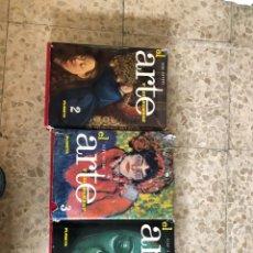 Enciclopedias antiguas: EL ARTE Y EL HOMBRE - RENE HUYGHE - EDITORIAL PLANETA OBRA EN 3 VOLÚMENES.. Lote 219218480