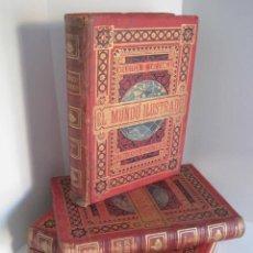 Enciclopedias antiguas: EL MUNDO ILUSTRADO. SEGUNDA SERIE. TOMOS 1, 2, 3 Y 4. HISTORIA, CIENCIAS, ARTES, LITERATURA.. Lote 219396043