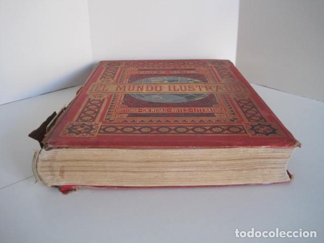 Enciclopedias antiguas: EL MUNDO ILUSTRADO. SEGUNDA SERIE. TOMOS 1, 2, 3 Y 4. HISTORIA, CIENCIAS, ARTES, LITERATURA. - Foto 4 - 219396043
