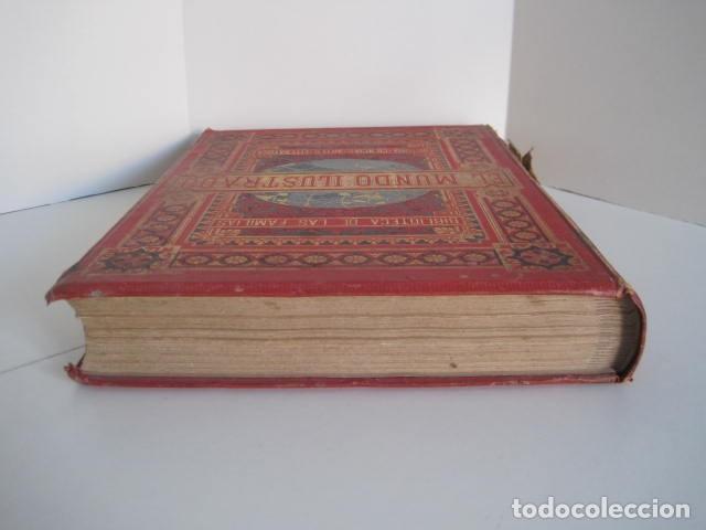 Enciclopedias antiguas: EL MUNDO ILUSTRADO. SEGUNDA SERIE. TOMOS 1, 2, 3 Y 4. HISTORIA, CIENCIAS, ARTES, LITERATURA. - Foto 6 - 219396043
